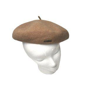 KANGOL 100% New Wool Unisex Flat Cap Hat #8113075